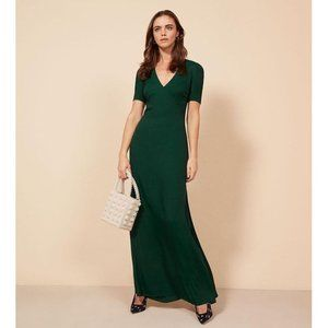Reformation Briana in Emerald size 2 NWT